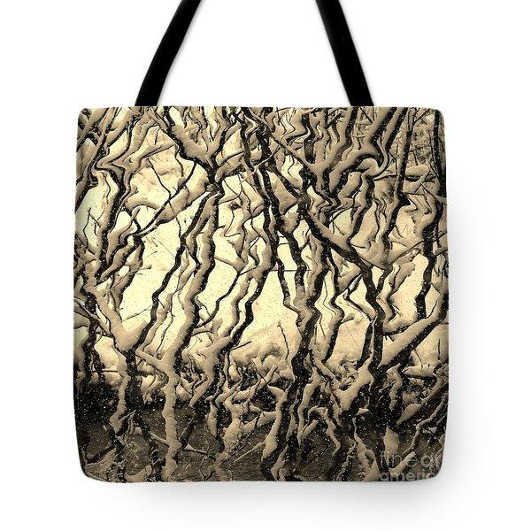 Tree Frenzy Tote Bag