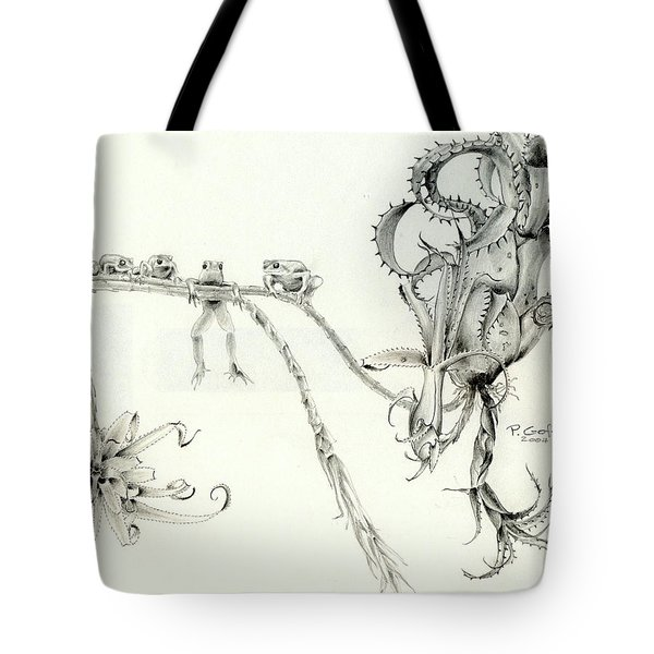 Tree Frog Hangout Tote Bag