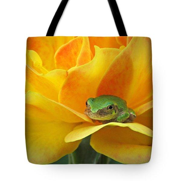 Tree Frog Series 4 Tote Bag