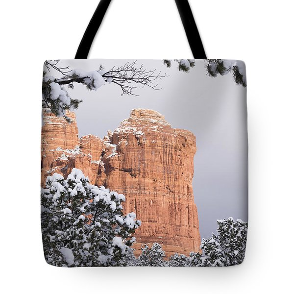 Tree Hanging Over Coffee Pot Tote Bag