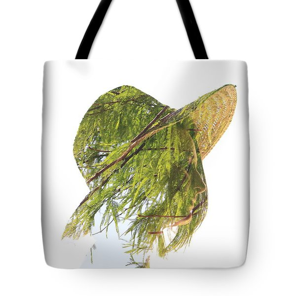 Tree Hat Tote Bag