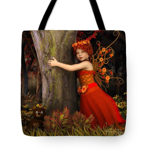 Tree Hug Tote Bag