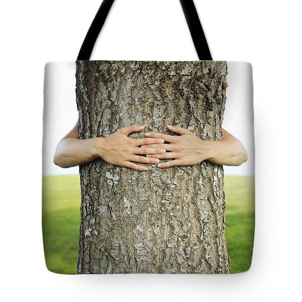 Tree Hugger 1 Tote Bag by Brandon Tabiolo - Printscapes