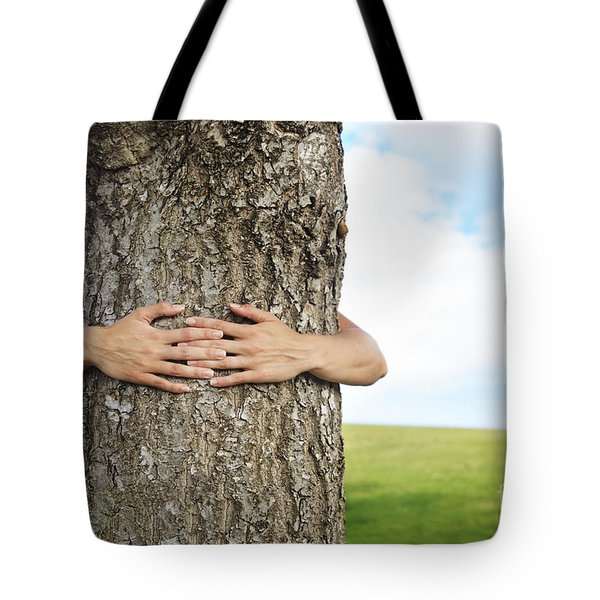 Tree Hugger 2 Tote Bag by Brandon Tabiolo - Printscapes