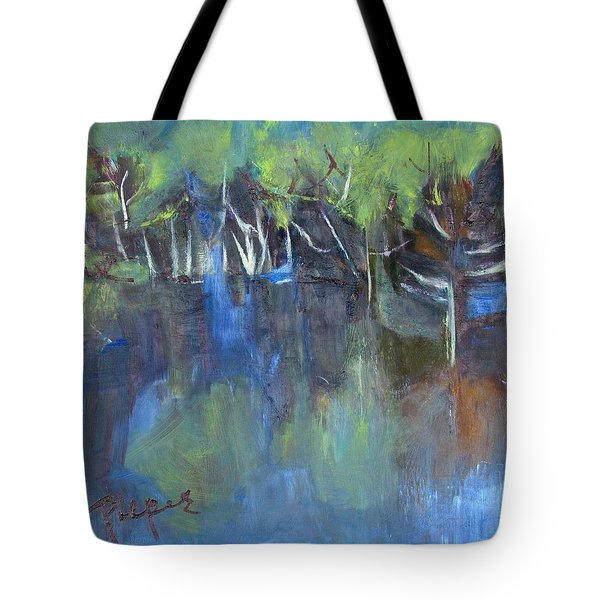 Tree Imagery Tote Bag by Betty Pieper
