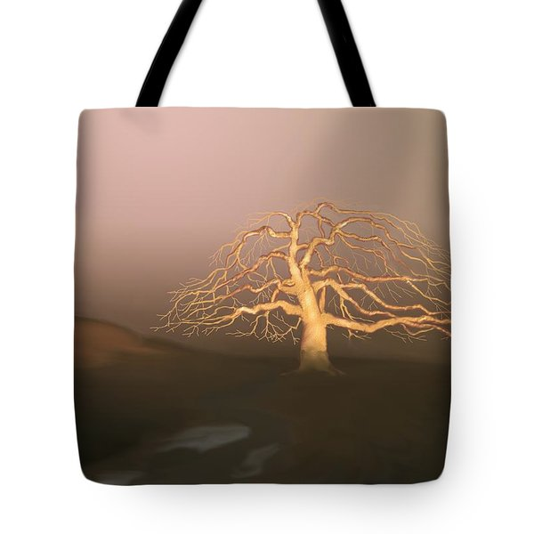 Tree In Winter I Tote Bag by Kerry Beverly