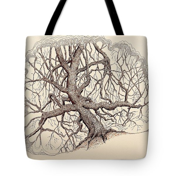 Tree In Winter II Tote Bag by Kerry Beverly
