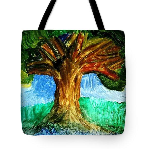 Tree Island  Tote Bag