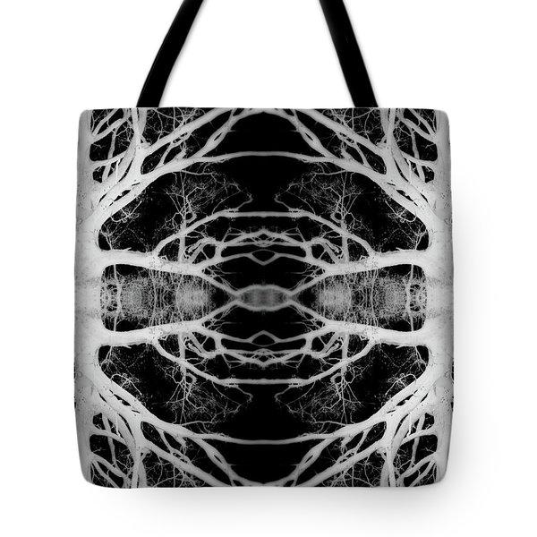Tree Kaleidescope  Tote Bag