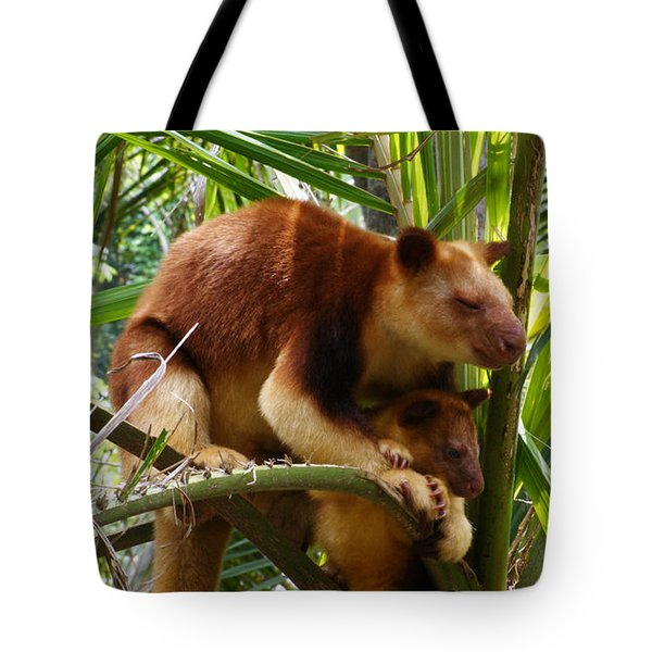 Tree Kangaroo 1 Tote Bag