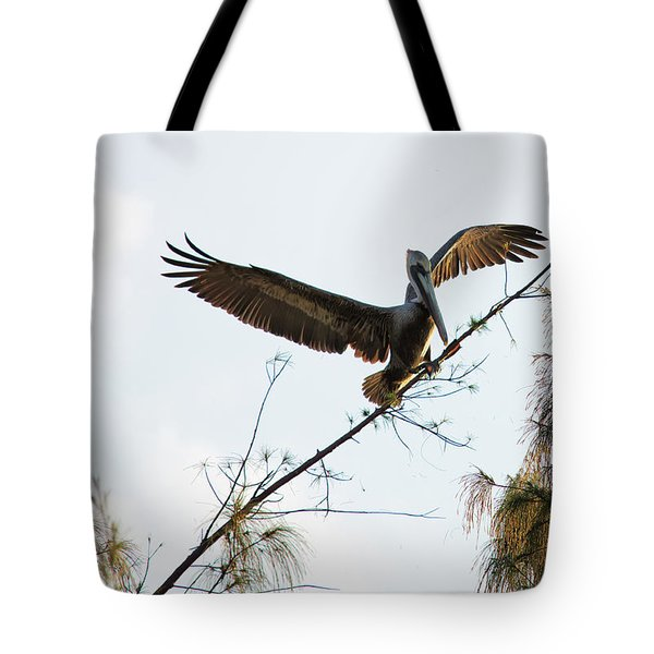 Tree Landing Tote Bag
