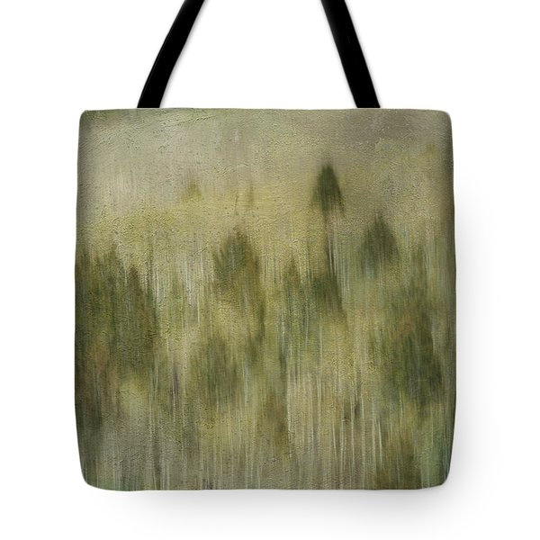Tree Line Tote Bag by Carolyn Dalessandro
