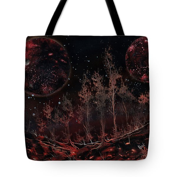 Tree Line On Fettorine Tote Bag