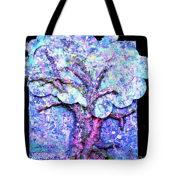Tote Bag featuring the painting Tree Menagerie by Genevieve Esson