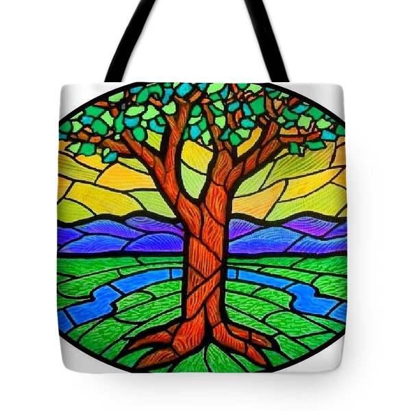 Tree Of Grace - Summer Tote Bag