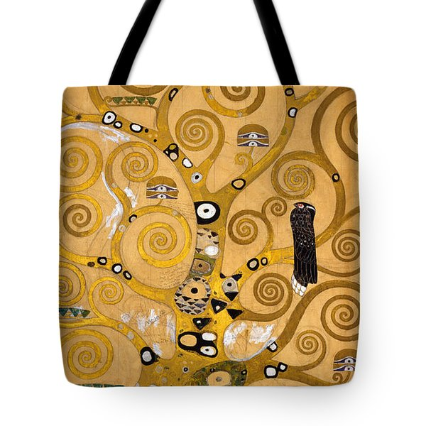 Tree Of Life Tote Bag by Gustav Klimt