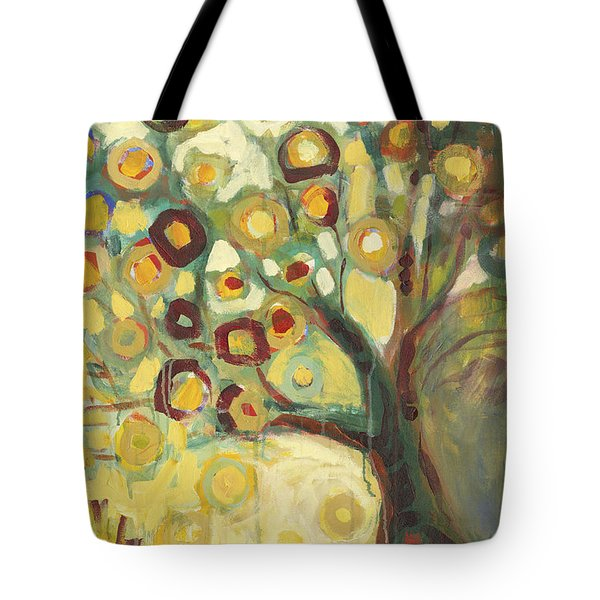 Tree Of Life In Autumn Tote Bag