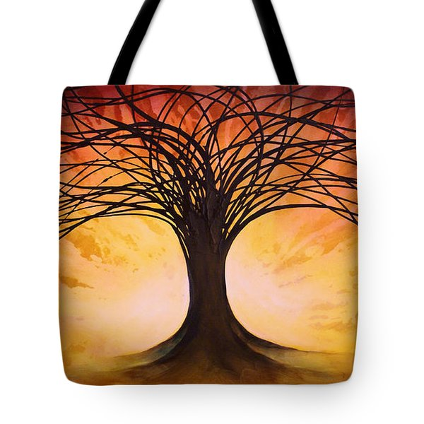 Tree Of Life Tote Bag by Michael Lang