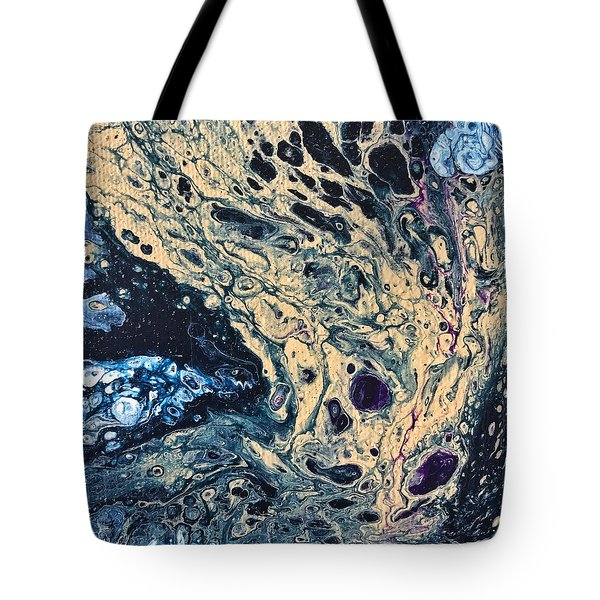 Tote Bag featuring the painting Tree Of Life by Robbie Masso