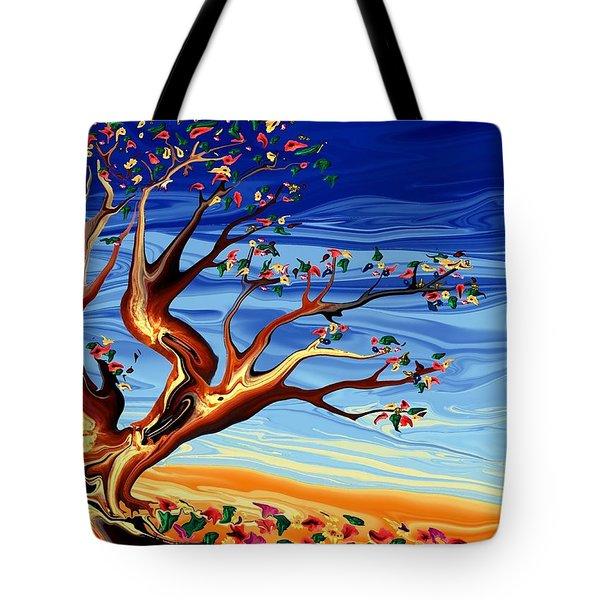 Tree Of Life Tote Bag by Robin Monroe