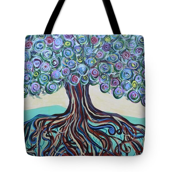 Tree Of Life-spring Tote Bag