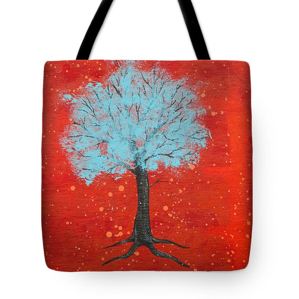 Nuclear Winter Tote Bag by Stefanie Forck