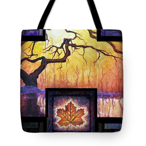 Tree Of Life The Giver Tote Bag