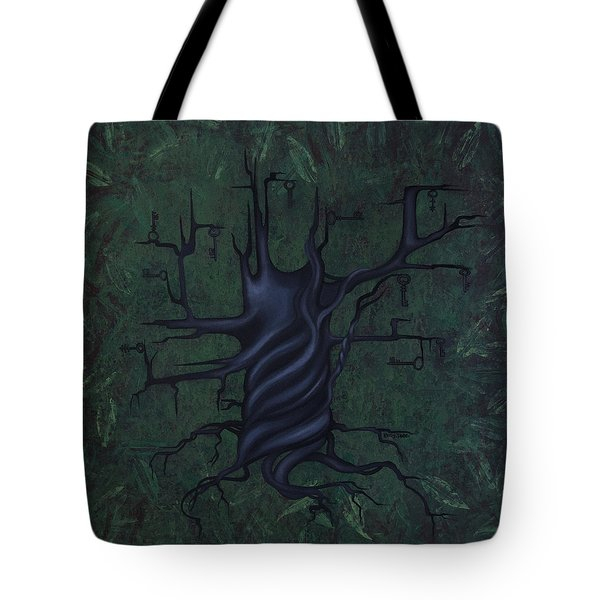 Tree Of Secrets Tote Bag