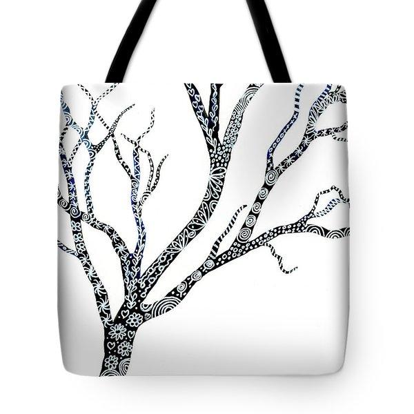 Tree Of Strength Tote Bag