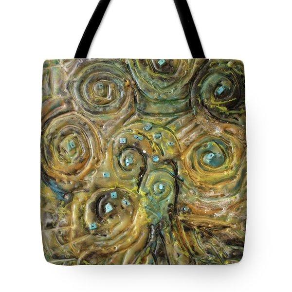 Tree Of Swirls Tote Bag