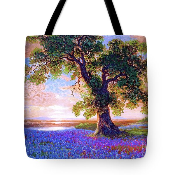 Tree Of Tranquillity Tote Bag