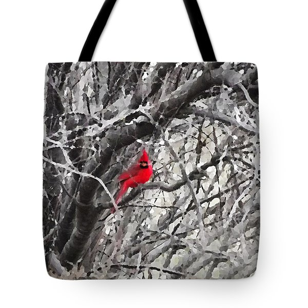 Tree Ornament Tote Bag