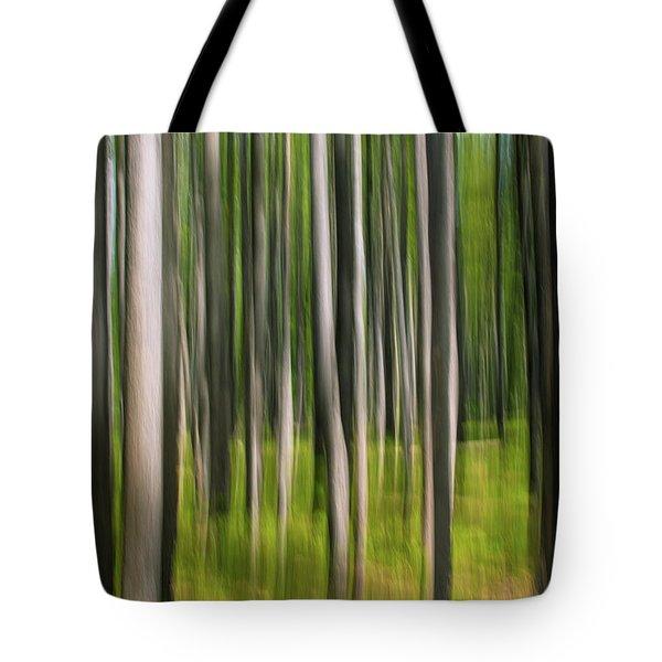 Tree Painting Tote Bag