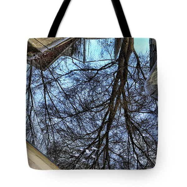 Tree Reflection From No Where Photography Image Tote Bag by James BO  Insogna