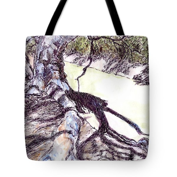 Tree Roots  Tote Bag