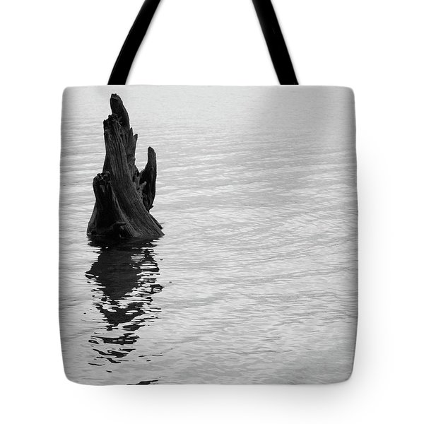 Tree Reflections, Rest In The Water Tote Bag