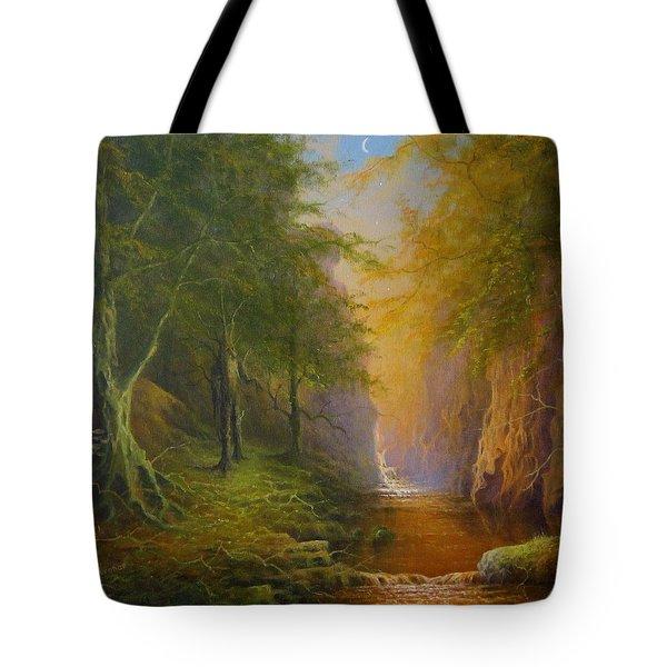 Fairytale Forest Tree Spirit Tote Bag