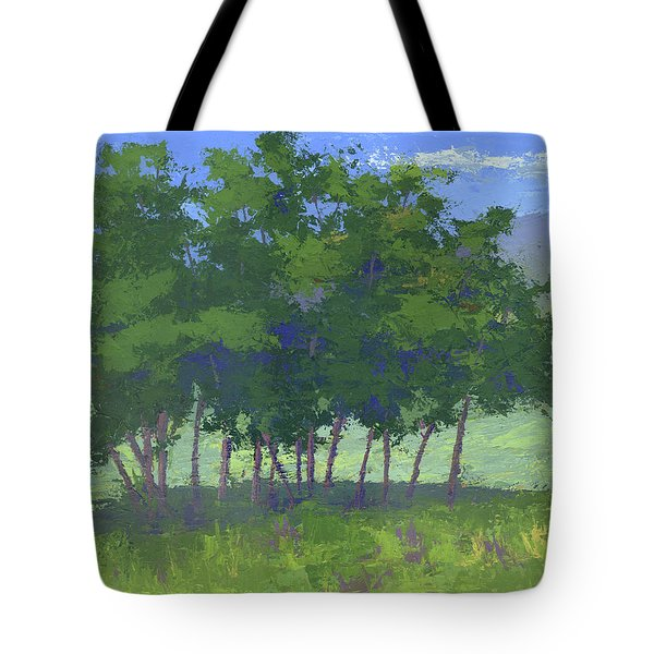 Tree Stand Tote Bag