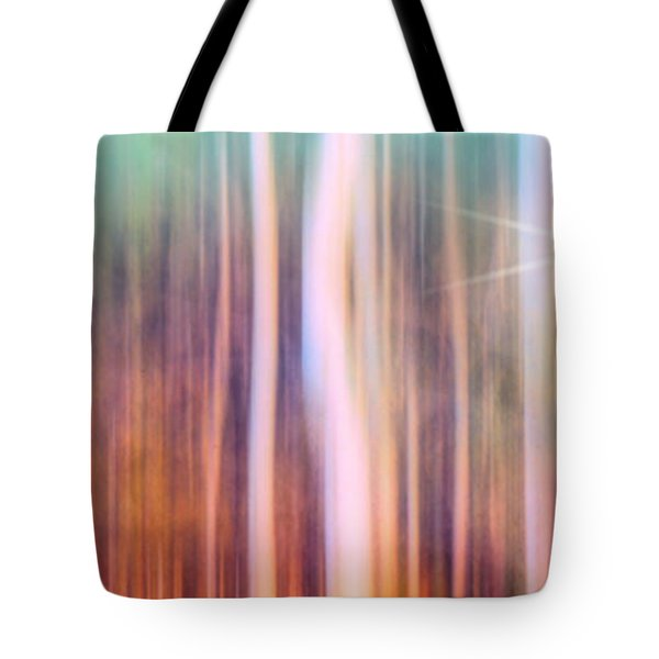 Tree Star Abstract Tote Bag