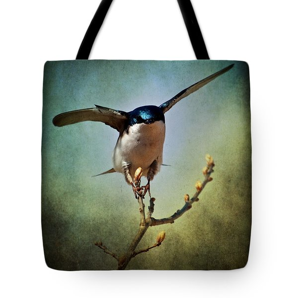 Tree Swallow 2 Tote Bag