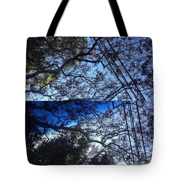 Tree Symphony Tote Bag