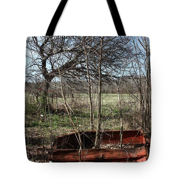 Tree The Usa  In A Chevrolet Tote Bag