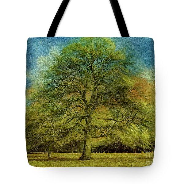 Tree Three Tote Bag