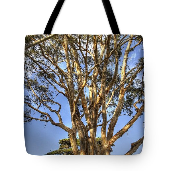 Tree To The Heavens Tote Bag
