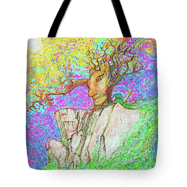Tree Touches Sky Tote Bag