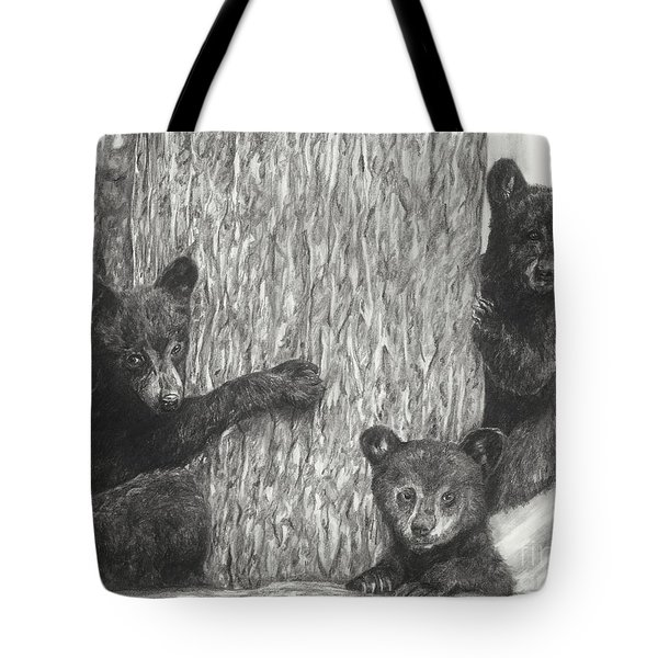 Tree Trio  Tote Bag by Meagan  Visser