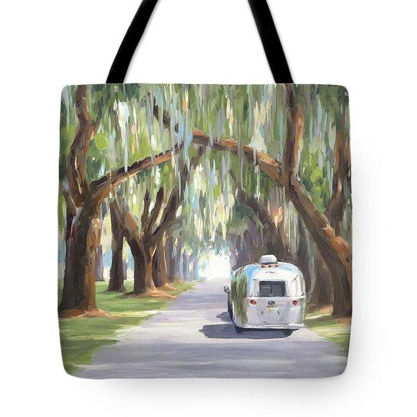 Tree Tunnel Tote Bag