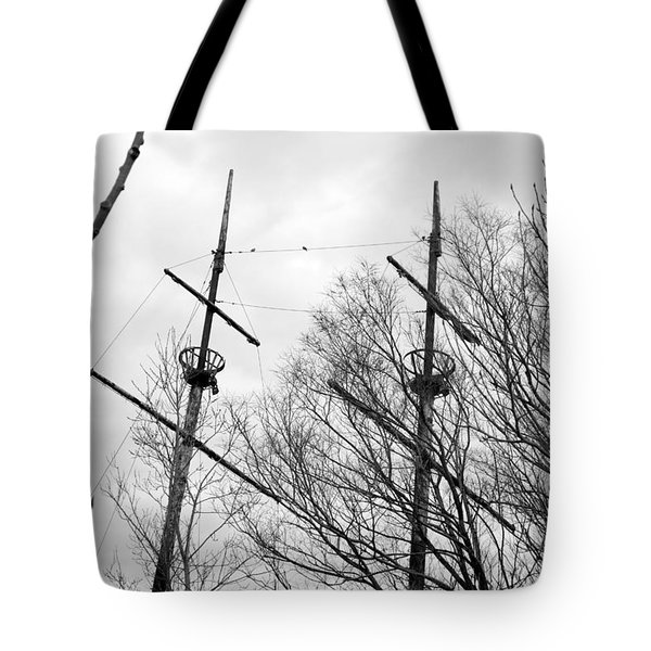 Tote Bag featuring the photograph Tree Types by Valentino Visentini