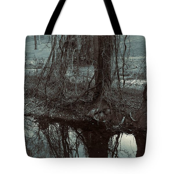 Tree Vines Water Tote Bag