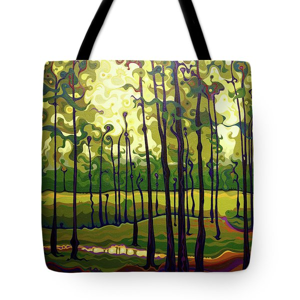 Treecentric Summer Glow Tote Bag
